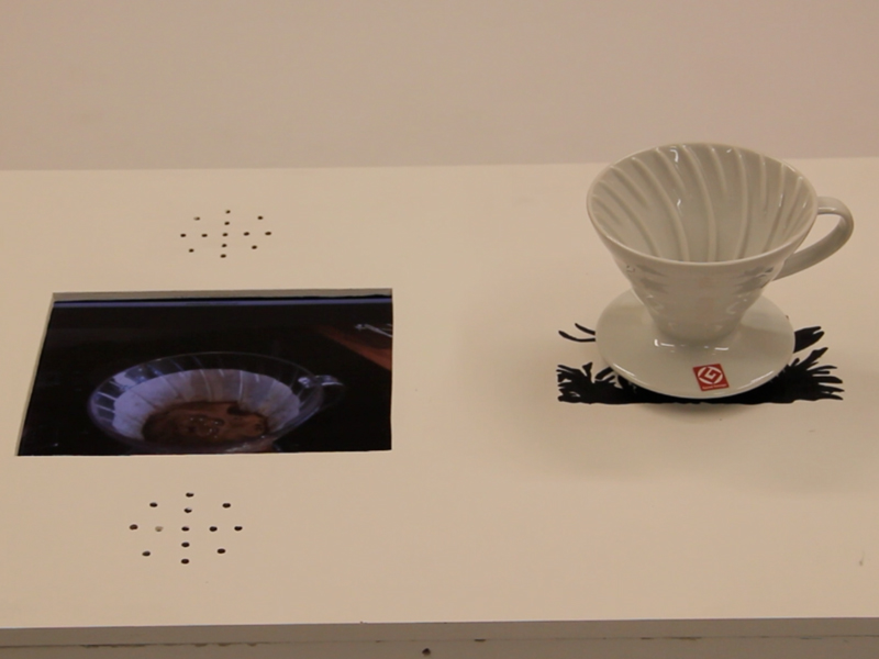 Interactive installation using RFID